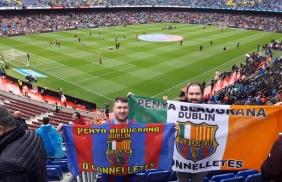 PB Dublin at Camp Nou
